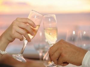 Champagne Malediven